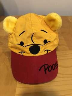 HK Disneyland Winnie the Pooh toddler cap