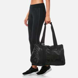 Reebok Women's Lead & Go Graphic Grip Duffle Bag