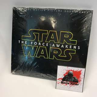 全新 美版 Star Wars The Force Awakens OST 電影原聲