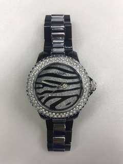 Madison NY sparkling dial watch with stones
