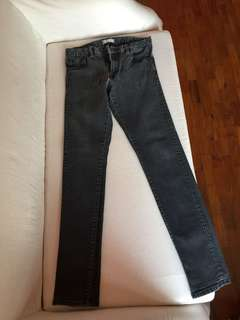 Black denim pants (Uniqlo)