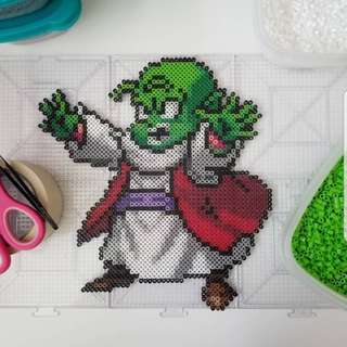Hama beads design Dragon Ball Z Characters Dende