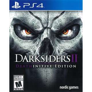 (Brand New Sealed) PS4 Game Darksiders 2.