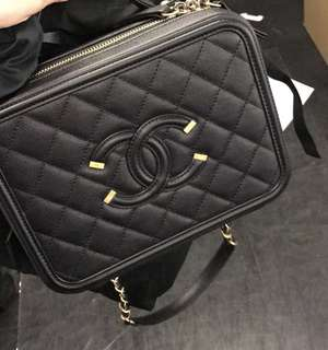 Chanel Vanity case bag(M size)