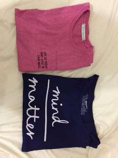 Free size statement shirts