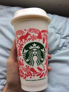 Starbucks christmas edition tumbler