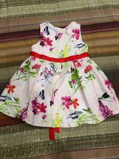 Oshkosh B'Gosh Pink Floral Dress