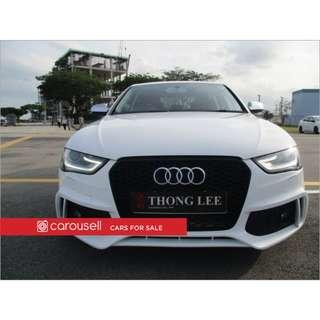 Audi A4 2.0A TFSI Quattro S-tronic S-Line