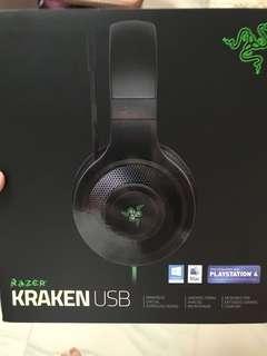 Selling Brand new Razer Kraken Headset