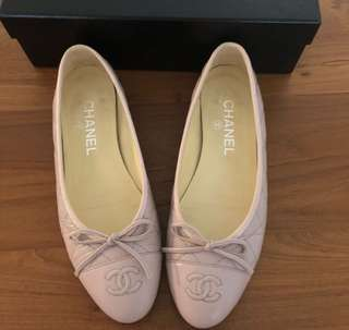 Chanel bellarina flats