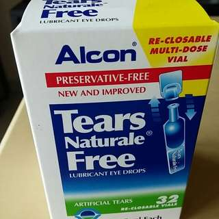 Eye Drop – Refresh and Alcon Tears Naturale