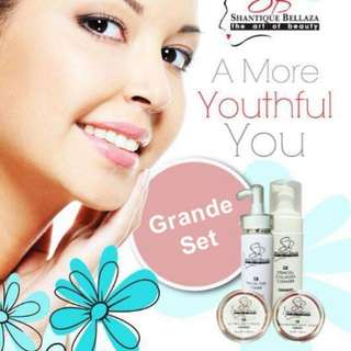 SHANTIQUE BELLAZA SKINCARE.  Processing proceed upon full payment received via bank transfer