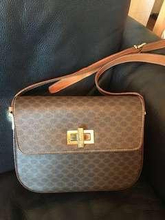 vintage Celine box📦📦📦 monogram bag 不議價