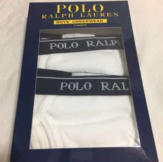 Authentic Ralph Lauren White Cotton Brief