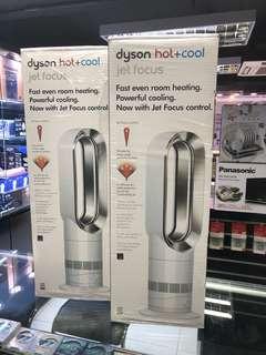 (新批次1/3) Dyson Hot + Cool AM09 白色 英國版 (三腳香港插頭220-240V)