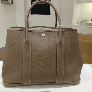 Hermes gp 36 A stamp etoupe