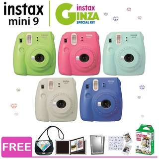 Fujifilm Instax Mini 9 Ginza Kit