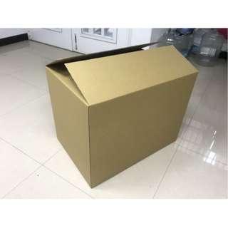 紙箱 包材 瓦楞紙 大材積 65x44.5x49.5公分 一束15個 台北大安區自取