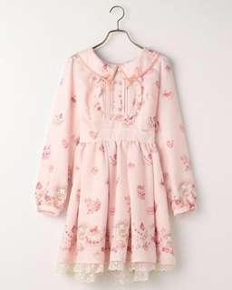 Liz Lisa x my melody sweet cake dress (pink)