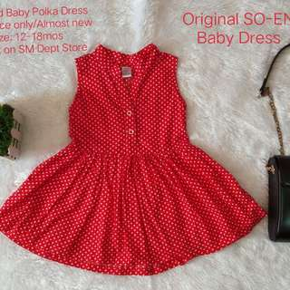Original SO-EN Baby Polka Dress
