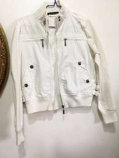 Imported cotton bomber jacket