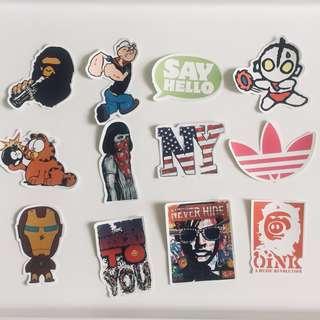 More Decorative Stickers