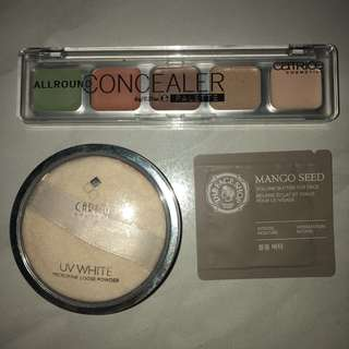 PROMO bundle makeup concealer, loose powder
