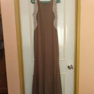 Brown Long Gown
