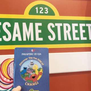 2 x Changi Airport Sesame Street Passport