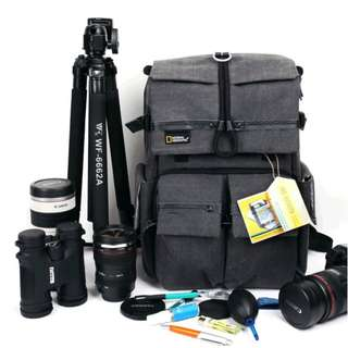 Limited national geographic NGW5070 photography package SLR camera bag shoulder