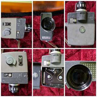 Vintage 8 mm movie camera