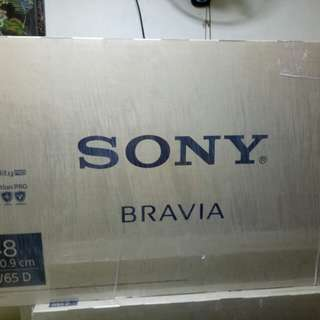 Sony Bravia 48inc W65D Smart tv Bnew!!