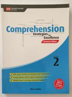 Sec 2 Comprehension  Strategies for Excellence