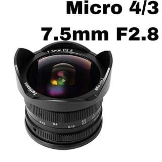 7Artisans 7.5mm F2.8 for Micro4/3