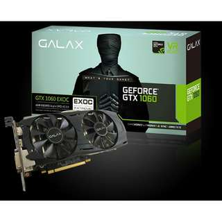 GALAX GeForce® GTX 1060 EXOC 6GB