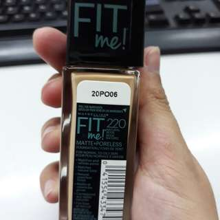 Maybelline Fit Me #220