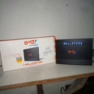 Wifi Bolt home INTERNET TANPA KUOTA