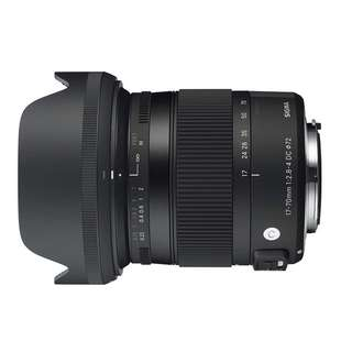 Sigma 17-70mm f/2.8-4 DC Macro OS HSM Lens for Canon and Nikon