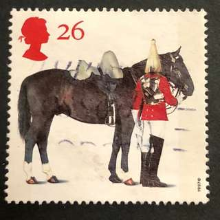 大英帝國馬匹紀念郵票