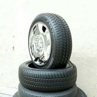 Used 165/55 R14(Sold) Silverstone (2pcs) 🙋♂️