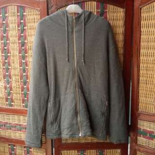 Sweater Hoodie Ziper Jones New York not Jaket Outdoor