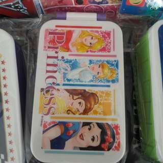 Disney /Princess Lunch Box/Elsa&Anna/公主午餐盒330ml/15.4×8.2l×4.5cm