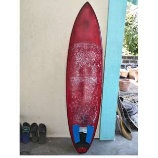 "Custom 6'3"" Sufboard Like New"