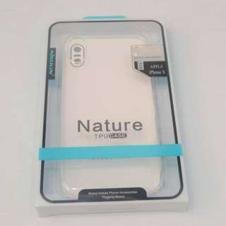 Nillkin Nature Tpu Case for Iphone X (clear)