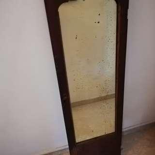 Vintage teakwood  mirror