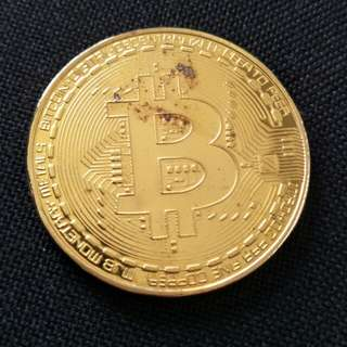 Bitcoin commemorative coin