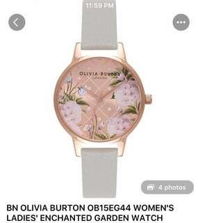 Olivia Burton OB15EG44 Enchanted Garden Watch