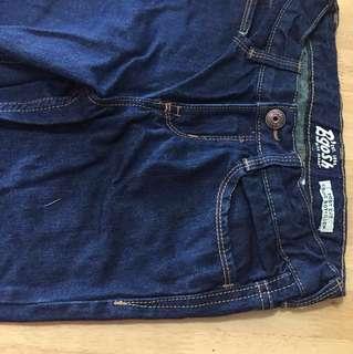 Pants-bootcut denims dk blue 7yo