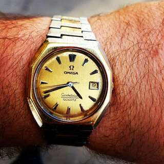 Omega concellation 18k Gold