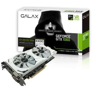 GALAX GeForce® GTX 1060 EXOC White 6GB